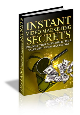 Product picture instant video marketing secret/online business
